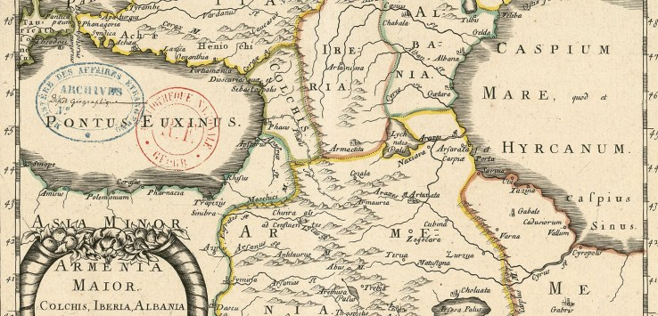 old maps of Armenia Archives - PeopleOfAr
