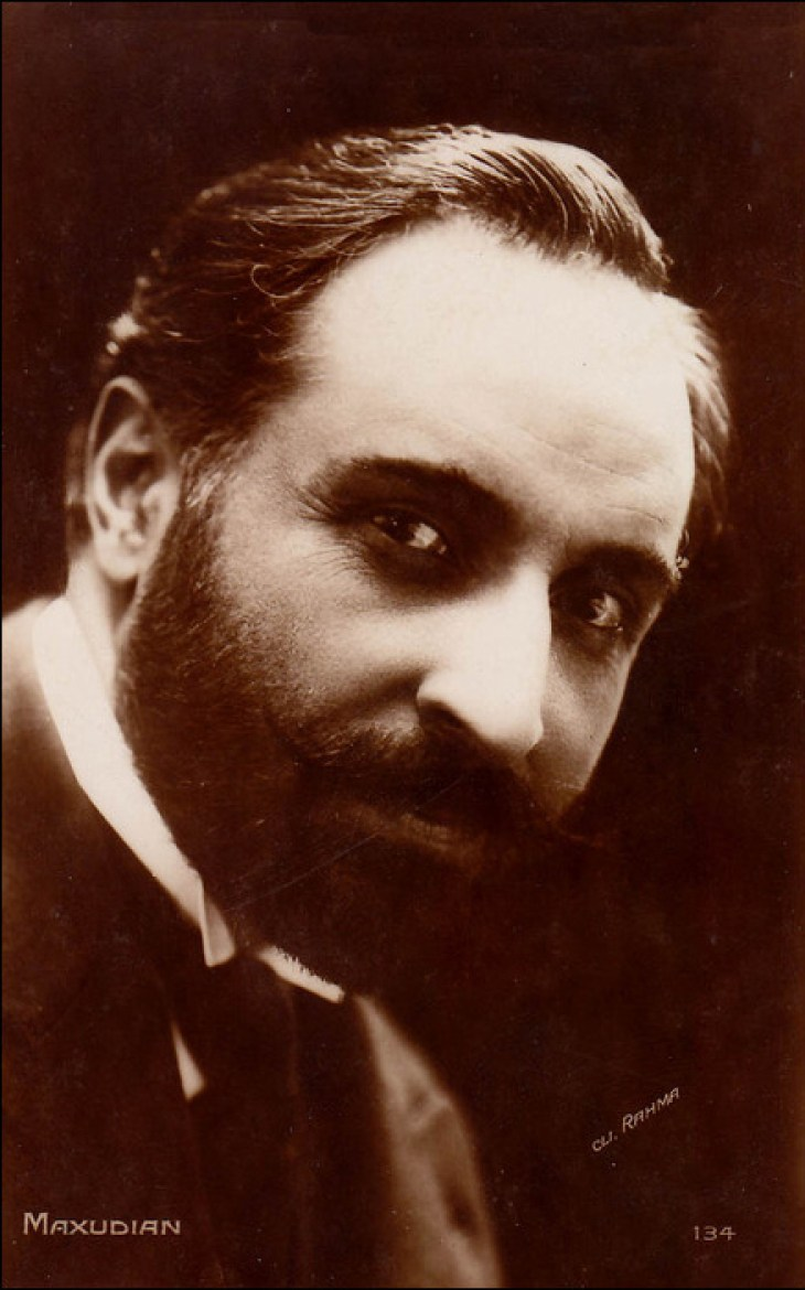 Max Maxudian, Armenian actor 1920