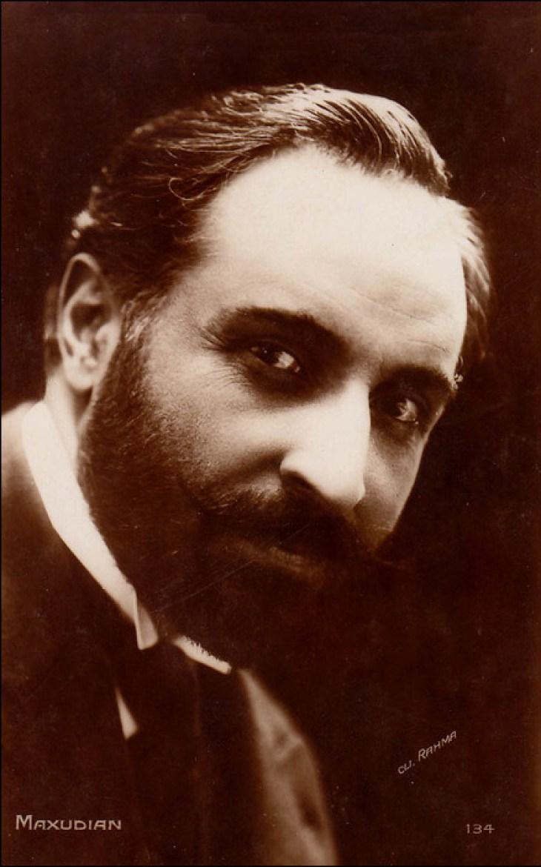 Max Maxudian, Armenian actor 1920