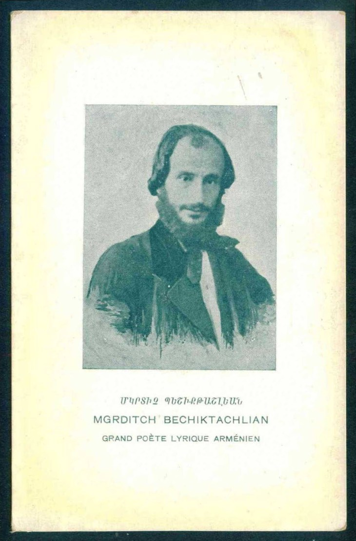 Mgrditch Bechiktachlian – Armenian writer and a great lyrical poet