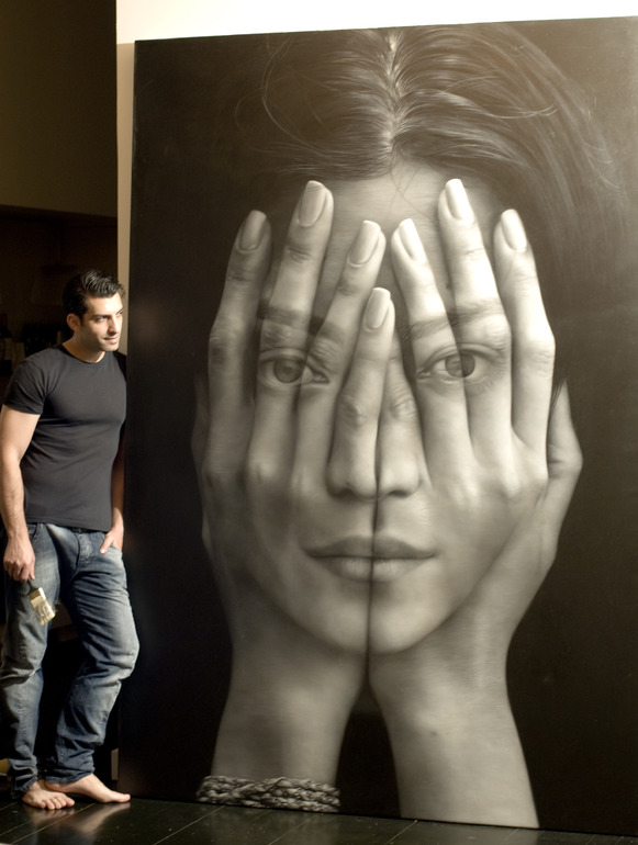 Tigran tsitoghdzyan yes these are paintings peopleofar for Miroir 100 x 70