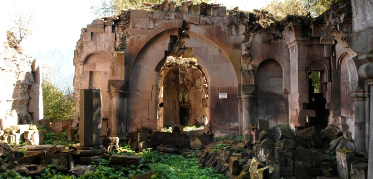 Monastery of Bardzrakash St. Gregory, Dsegh, ARMENIA (10th-13th century).