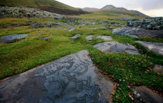 Neolithic Petroglyphs in Ukhtasar mountains, Armenia