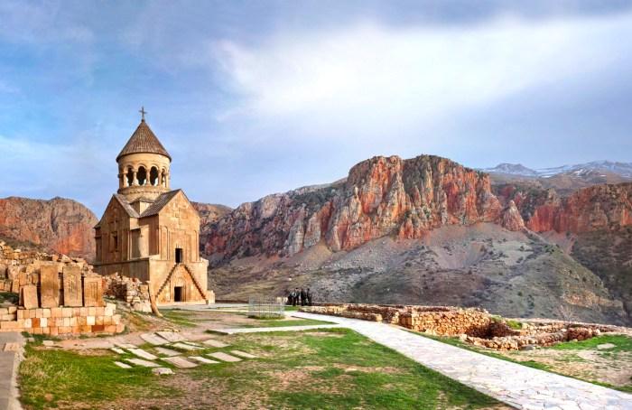 Noravank Monastery 1205 AD., Armenia