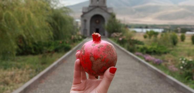 Pomegranate Symbol Of Armenia Peopleofar