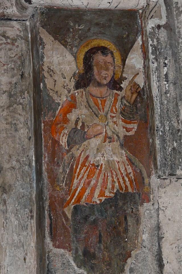 Paintings of the matenadaran, Saghmosavank, Armenia (13th century).