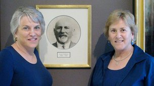 Sisters Craigie and Debbie Zildjian now lead the family business