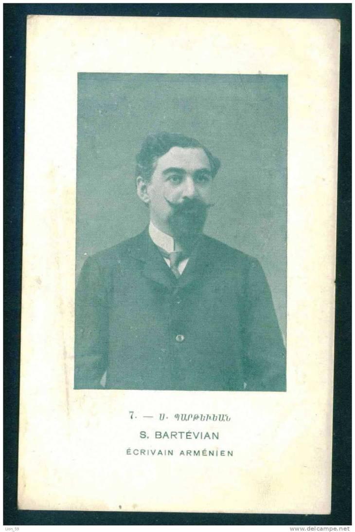 Souren Bartevian, Armenian writer