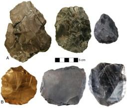 Stone Age Levallois tools Armenia