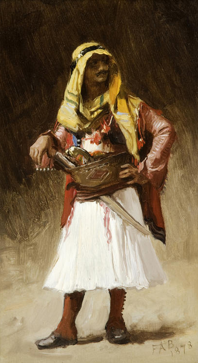 The Armenian by Frederick Arthur Bridgman (1847-1928)