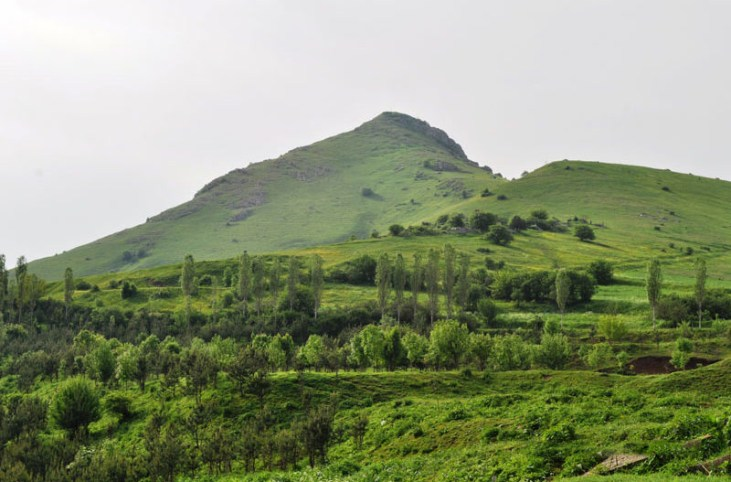 View from Vardablur fortress, Stepanavan, Armenia