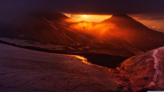 View of Mount Aragats, Armenia