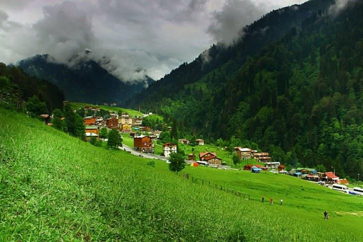 Village in the Kackar mountains
