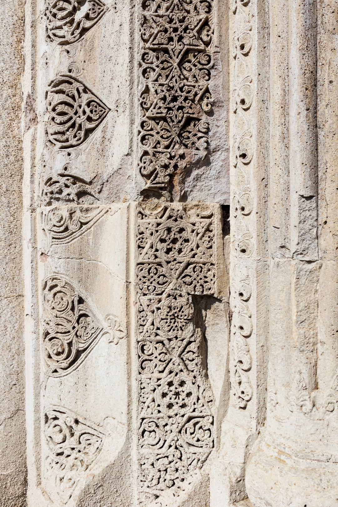 Wall Detail in Gandzasar Monastery (1240)