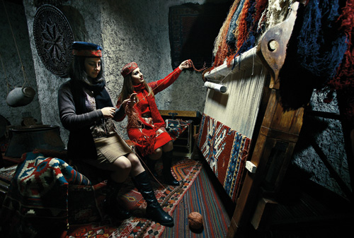 Weaving Armenian Carpets