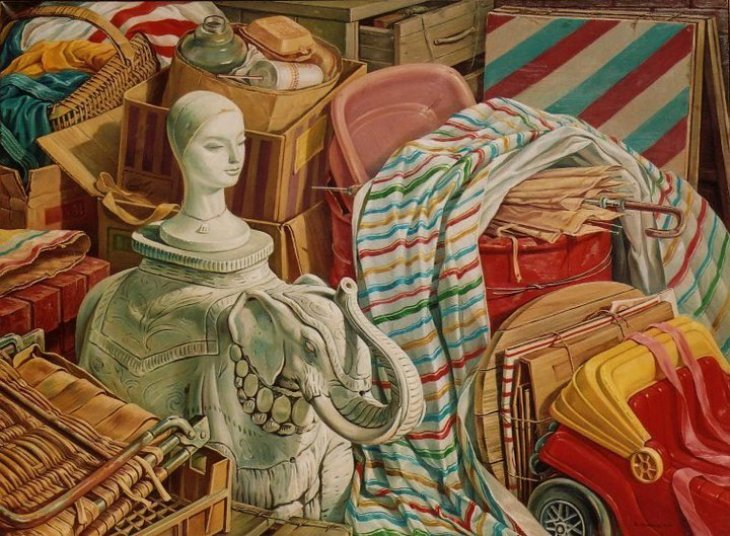 White Elephant 1990 by Rubik Kocharian
