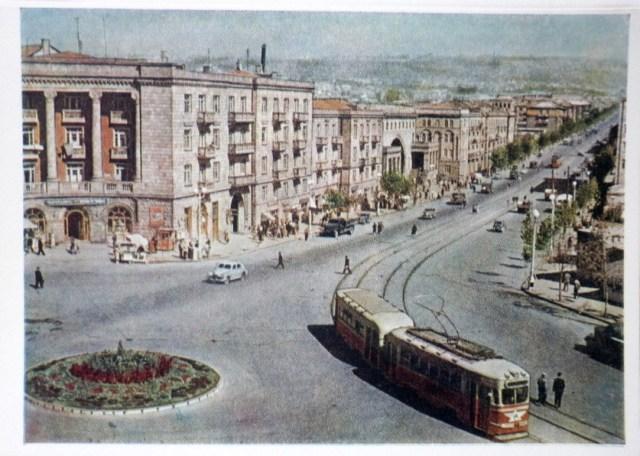Yerevan - Stalin Avenue - 1957