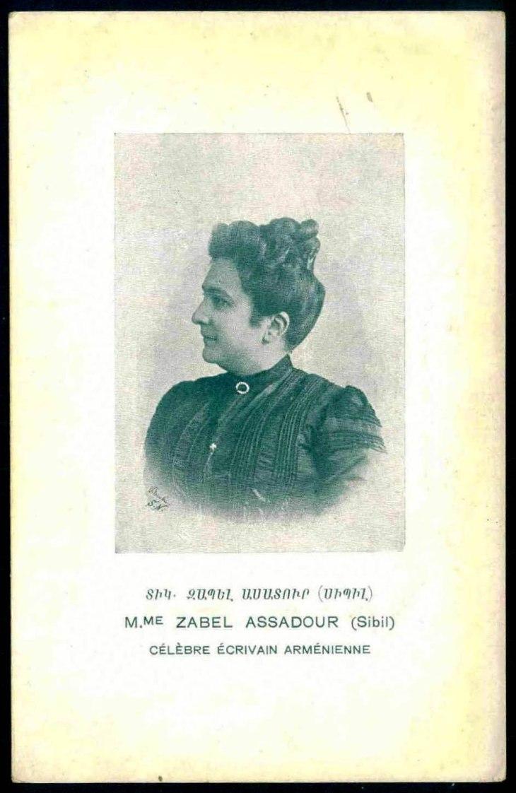 Zabel Khanjian,famous Armenian writer