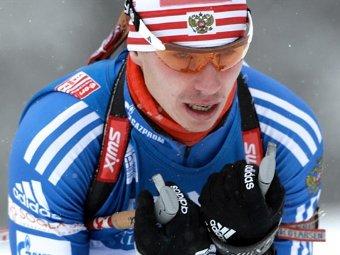 Олимпийский чемпион по биатлону Евгений Устюгов