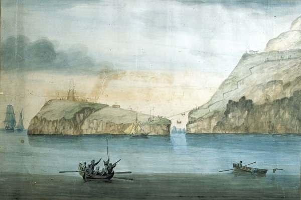 'Adeiladu Goleudy Ynys Lawd', by Captain Hugh Evans, 1808