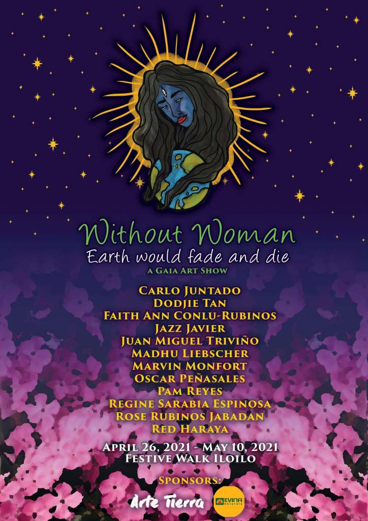 without woman earth would fade and die