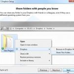 Dropbox Tutorial Screen 4