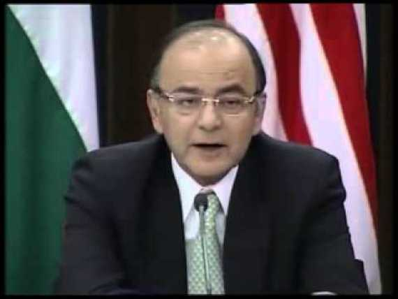 Arun Jaitley assures US monopoly capital of total cooperation and support