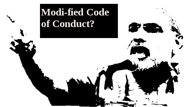 Modi-fied code of conduct for Uttar Pradesh Assembly Elections?
