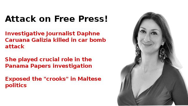 Murder of Daphne Caruana Galizia