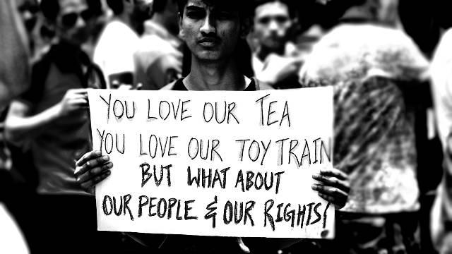 Darjeeling Gorkhaland Struggle and Complicity of the RSS led Hindutva Camp