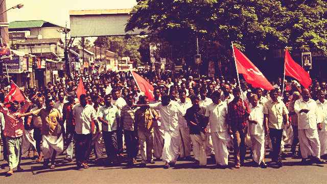RSS fascist terror and violence in Kerala against CPI(M)