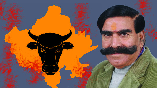What gives Gyan Dev Ahuja the audacity to call for Muslim lynchings in the name of cow protection in Rajasthan?