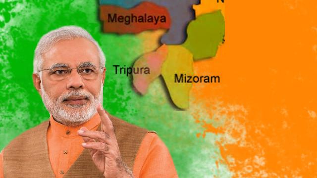 Meghalaya, Mizoram and Tripura assembly election