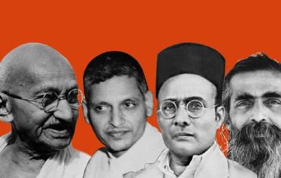 The gun that killed Gandhi isn't silent yet