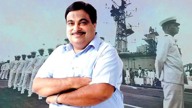 Nitin Gadkari expose Sangh hypocrisy by abusing Navy