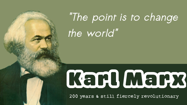 Karl Marx - the man of science