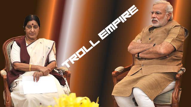 Sushma Swaraj Trolled