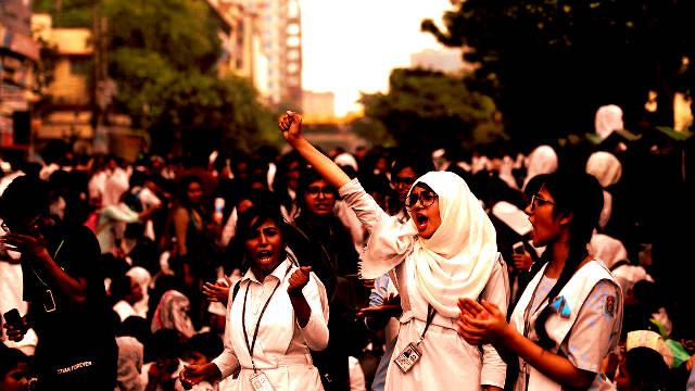 Dhaka School Students' Movement