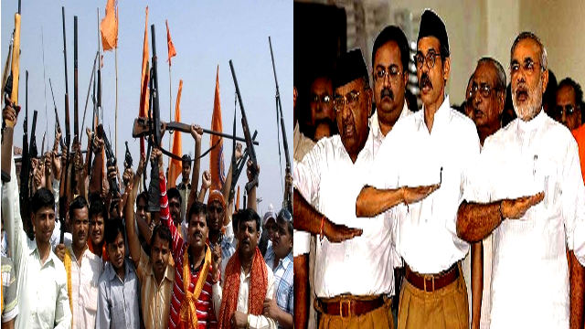 Hindutva terrorism is not to be mentioned in India