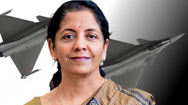Nirmala Sitharaman Rafale Jet Scam France Tour
