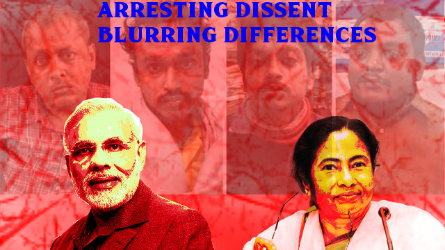 Goaltore Activist Arrest United Mamata & Modi on Common Paranoia