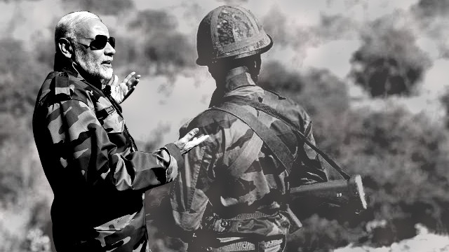 Modi's war rhetoric rooted in middle class's military obeisance