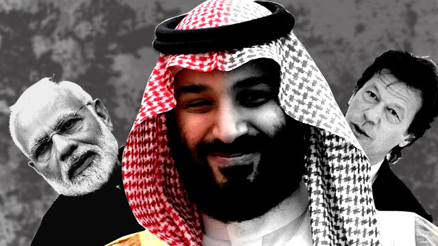 The Saudi crown prince's visit to India-Pakistan