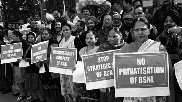BSNL and MTNL employees win a victory finally but the war isn't over