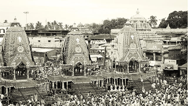 What does the iconic Rath Yatra in Puri during COVID-19 imply?