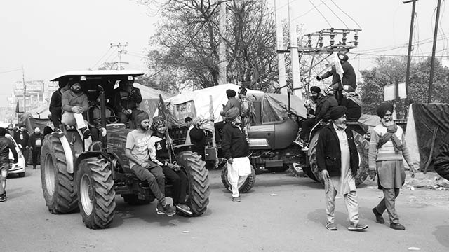 The farmers' tractor march on Republic Day: Defiance against corporate-fascism