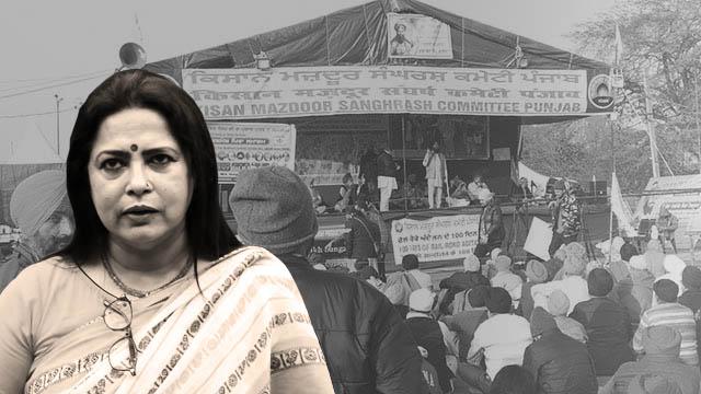 """Meenakshi Lekhi's """"hooligan"""" jibe against farmers exposed BJP's insecurities"""