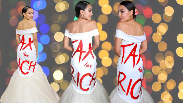 """AOC's """"tax the rich"""" campaign at Met Gala is ridiculous like the Democrats' tax push"""