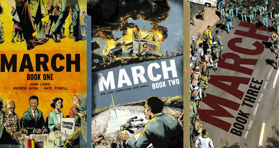 Image result for john lewis march trilogy