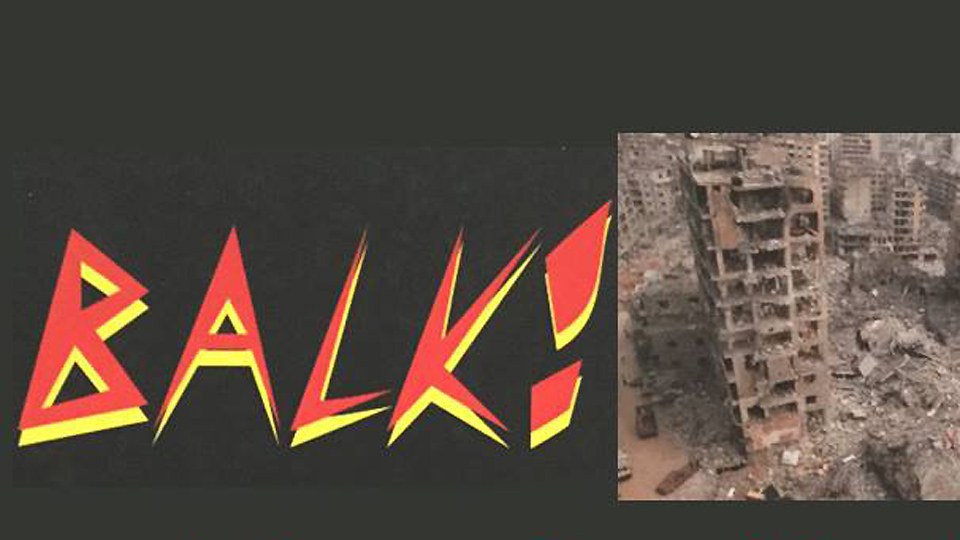 """""""BALK!"""": A fierce book of poems from the front lines of the class war"""